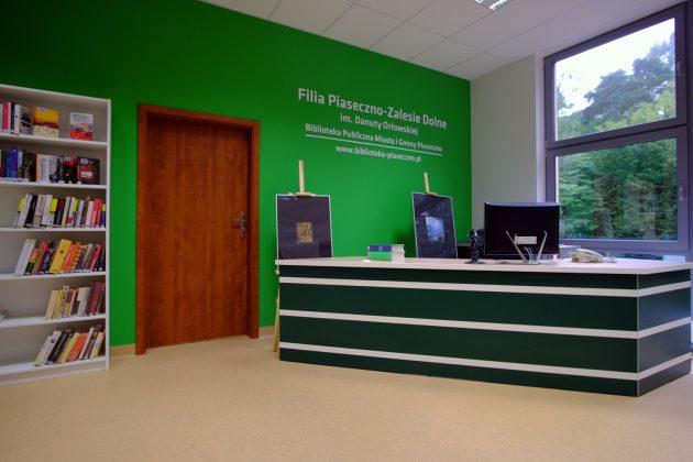 Wyremontowana filia biblioteki Piaseczno-Zalesie Dolne