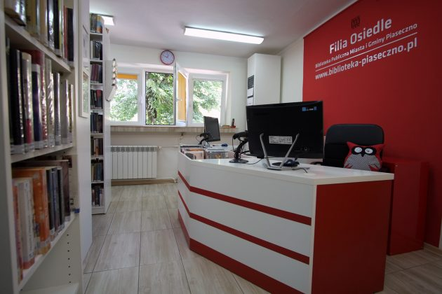 Wyremontowana filia biblioteki Osiedle w Piasecznie