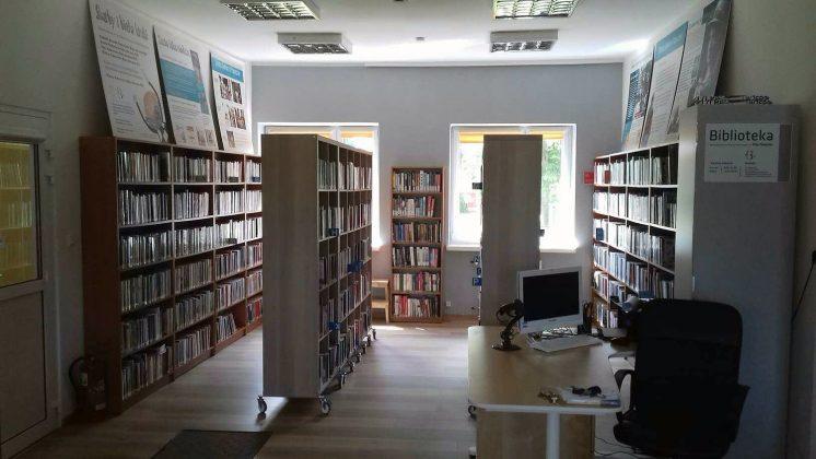 Wyremontowana filia biblioteki w Chojnowie