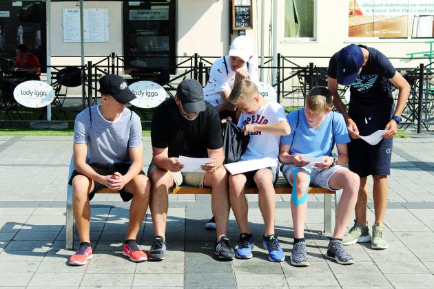 Gra terenowa o ochronie danych osobowych - foto: Marcin Borkowski