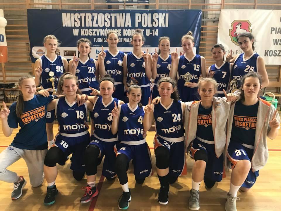 Podsumowanie Mistrzostw Polski w koszykówce - MUKS Piaseczno U14