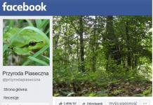 Przyroda Piaseczna na FB