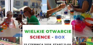 Dzień Otwarty Centrum Nauk Ścisłych Science-BOX