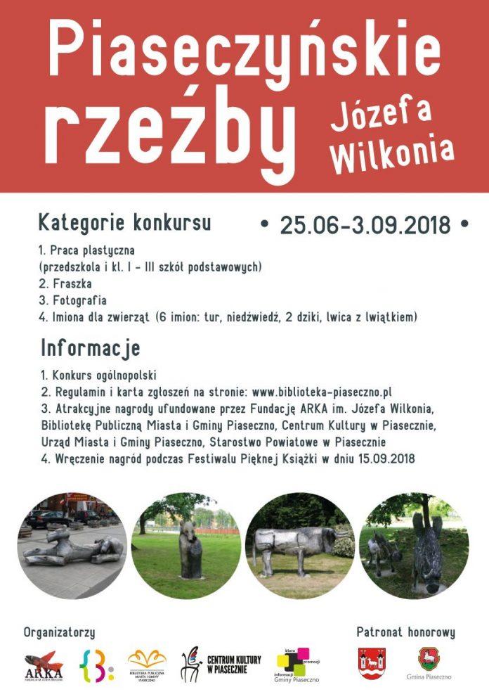 Ogólnopolski Konkurs Piaseczyńskie rzeźby Józefa Wilkonia