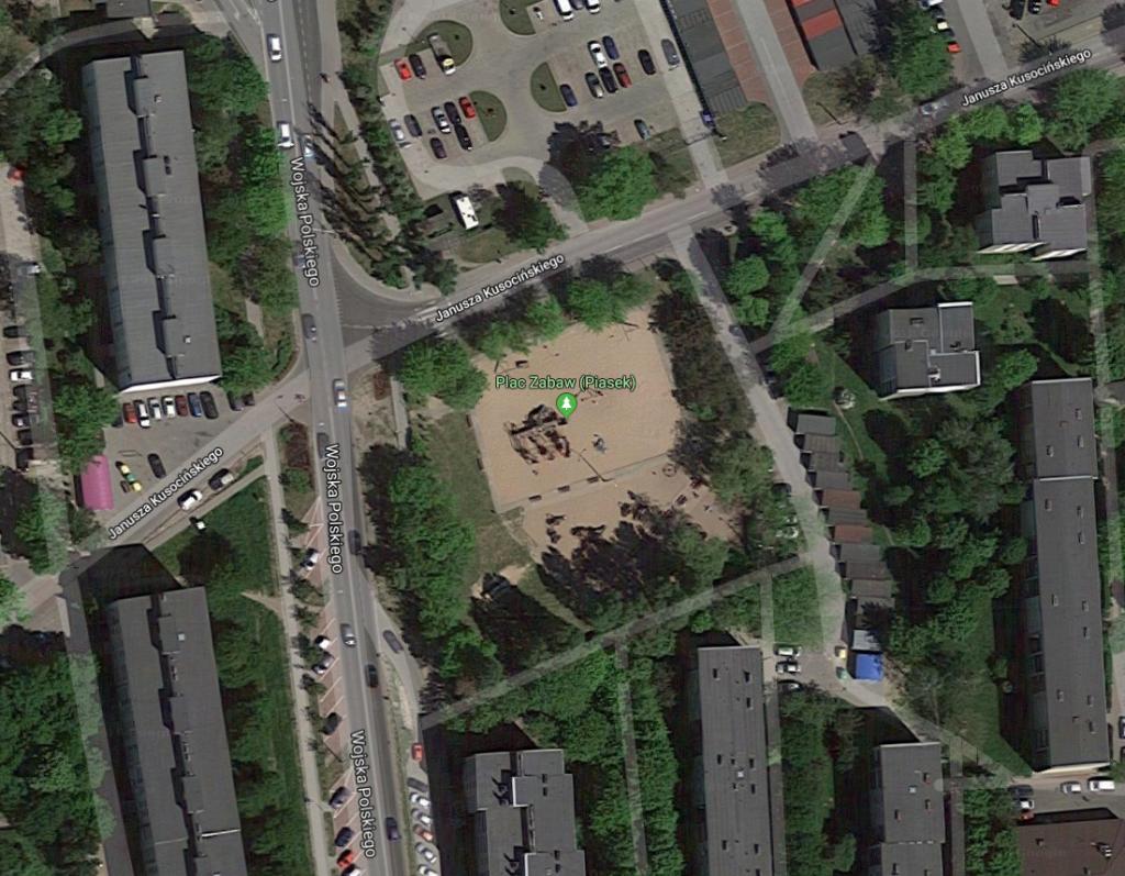 Plac zabaw przy Kusocińskiego