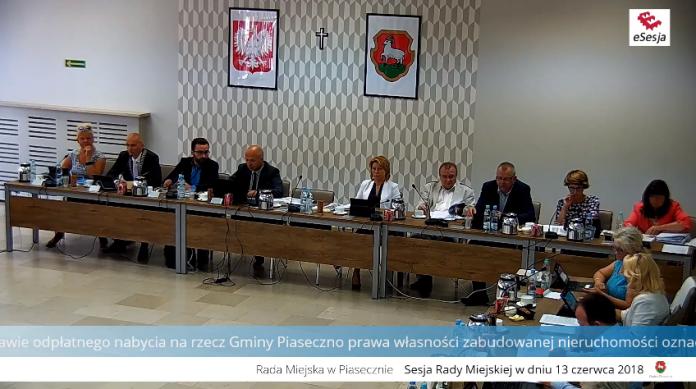 XLVIII sesja Rady Miejskiej w Piasecznie - relacja na żywo