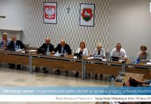 4 nadzwyczajna sesja Rady Miejskiej w Piasecznie
