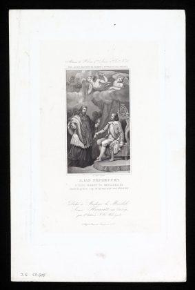 Św. Jan Nepomucen przed królem Wacławem IV obraz Franciszka Smuglewicza. Fot: zbiory ms