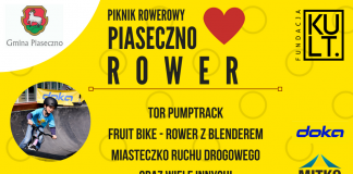 Piaseczno Kocha Rower -banerek