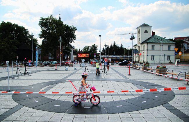 Miasteczko Ruchu Drogowego w Piasecznie - foto: Marcin Borkowski