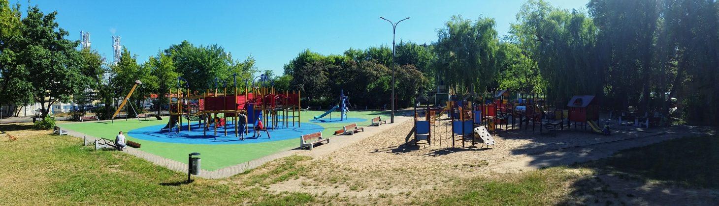 Odnowiony plac zabaw przy ul. Kusocińskiego w Piasecznie