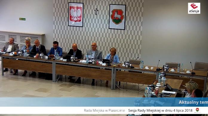 XLIX sesja Rady Miejskiej w Piasecznie
