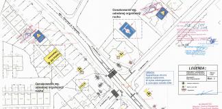 Zmiana organizacji ruchu na skrzyżowaniu ul. Geodetów - Ogrodowa