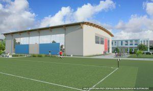 hala sportowa Złotoklos - wizualizacja BPB Partner