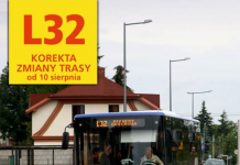 L32 - fot. facebook ZTM w Warszawie