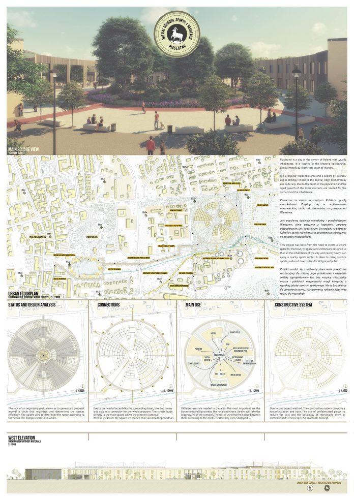 Wyniki konkursu architektoniczno-urbanistycznego dla studentów na zadanie pn.:
