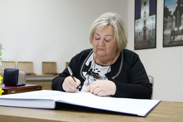 Pani Małgorzata Szturomska fot. Anna Grzejszczyk