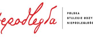 """logo programu """"Niepodległa"""""""