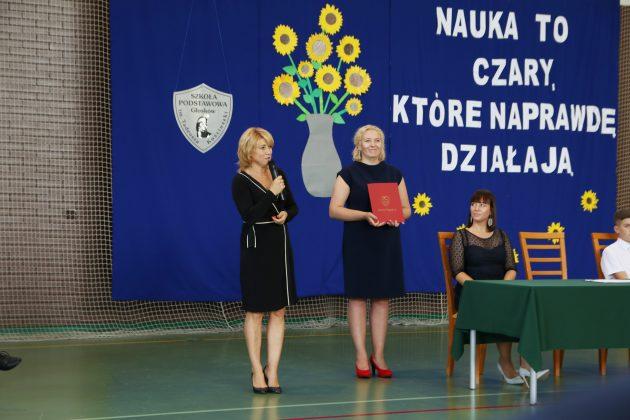 Ewa Wołynkiewicz – Dyrektor Szkoły Podstawowej w Głoskowie