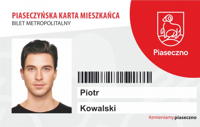 Wzór nowej Piaseczyńskiej Karty Mieszkańca 2020