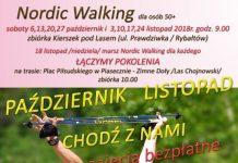 Bezpłatne zajęcia Nordic Walking 50+