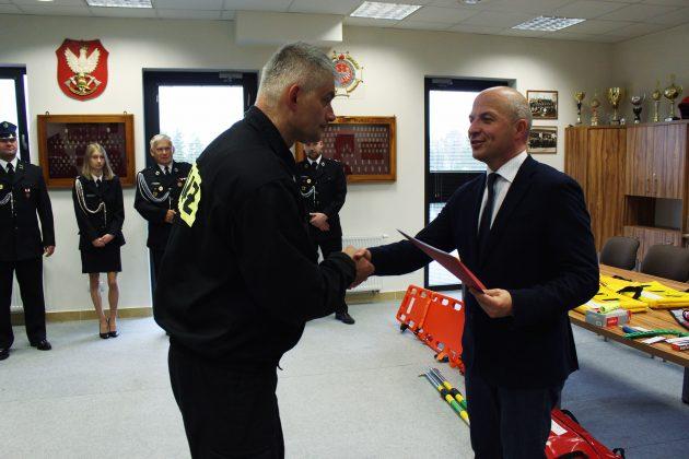 Nowy sprzęt ratowniczy dla jednostekgminnej Ochotniczej Straży Pożarnej