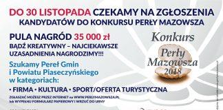 Konkurs Perły Mazowsza 2018