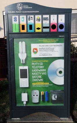 Miejski Punkt Elektroodpadów MPE Gmina Piaseczno