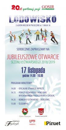 Otwarcie lodowiska na sezon łyżwiarski 2018/2019