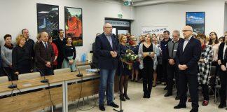 Pożegnanie Burmistrza Zdzisława Lisa