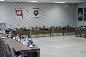 Sala konferencyjna Sesja Rady Miejskiej w Piasecznie