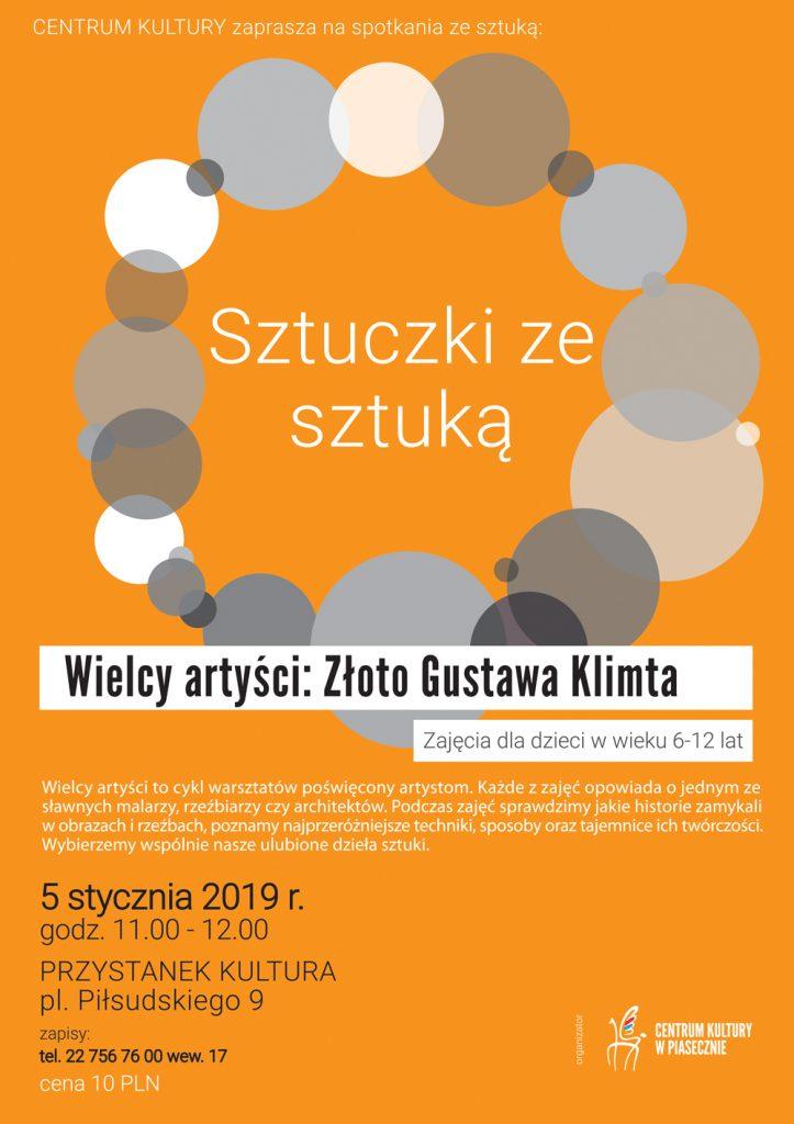 Złoto Gustawa Klimta - Sztuczki ze sztuką