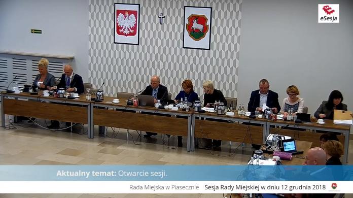 3. sesja Rady Miejskiej w Piasecznie
