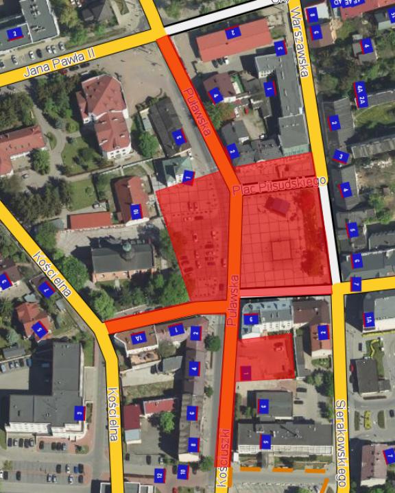 9 grudnia zamknięta ul. Kościuszki i zmiany w komunikacji
