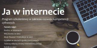 """plakat projektu """"Ja w internecie"""""""