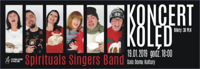 Spirituals Singers Band - koncert kolęd