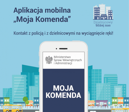 Aplikacja mobilna Moja Komenda