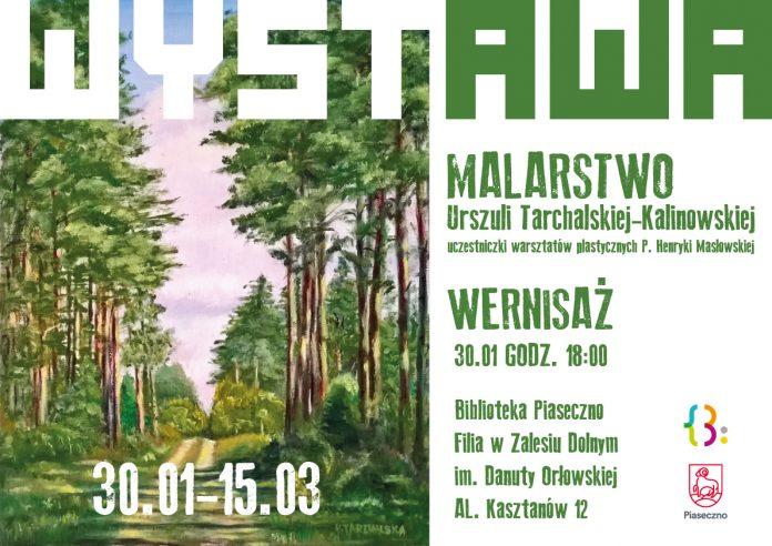 Wystawa malarstwa Urszuli Tarchalskiej-Kalinowskiej