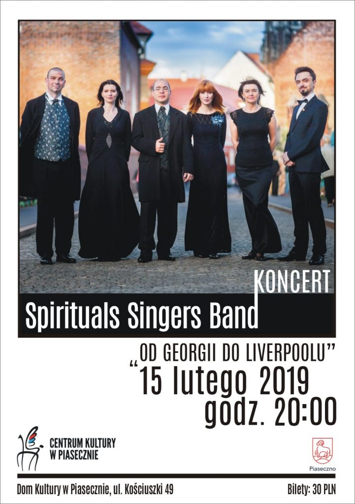 Spirituals Singers Band - Od Georgii do Liverpoolu