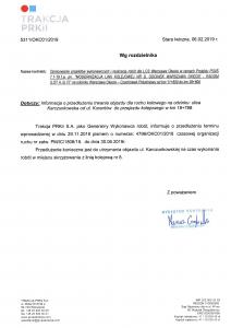 Przedłużenie czasowej organizacji ruchu na ul. Karczunkowskiej