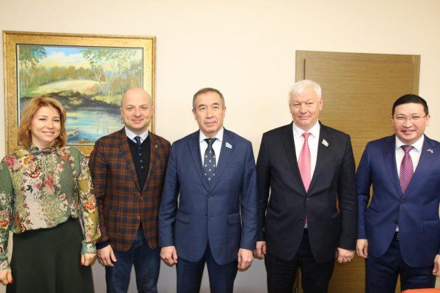 delegacja z Kazachstanu