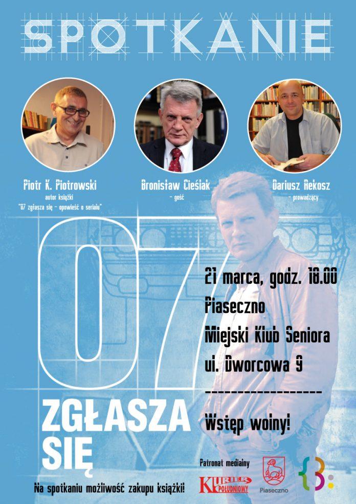Spotkanie z Bronisławem Cieślakiem plakat