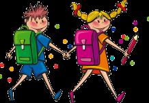 Przerwy wakacyjne w przedszkolach i szkołach podstawowych - dzieci