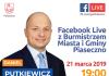 Facebook Live z Burmistrzem