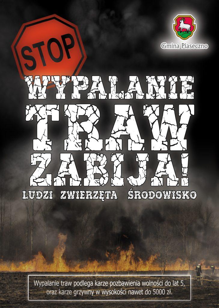 Stop wypalaniu traw