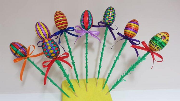 Kiermasz Wielkanocny w Świetlicy Żabka w Żabieńcu