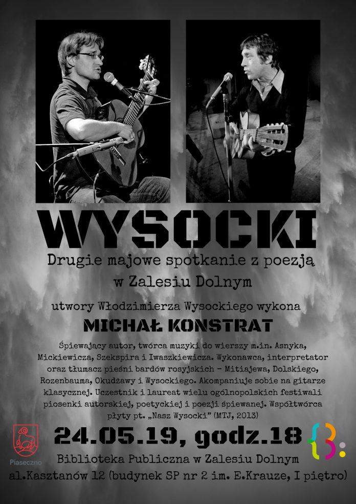 WYSOCKI - spotkanie z poezją w Zalesiu Dolnym