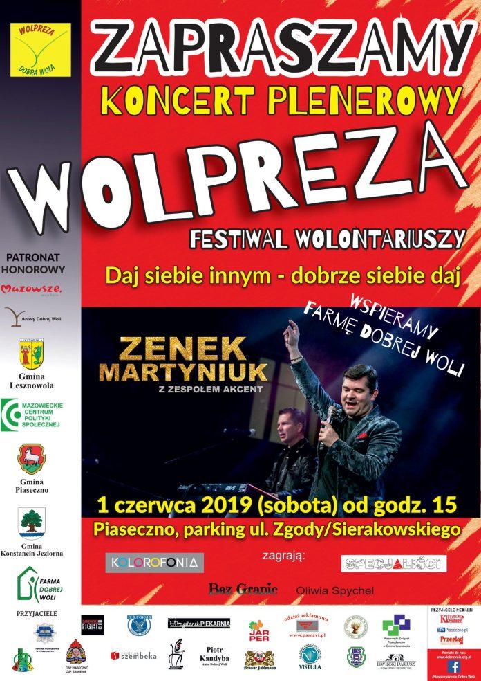 Festiwal wolontariuszy Wolpreza