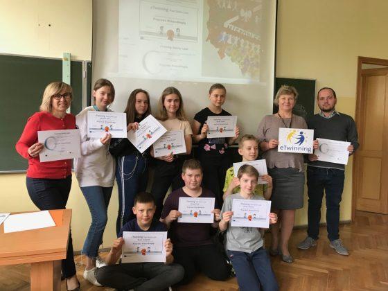 Poprzez Niepodległą - projekt eTwinning w SP nr 3