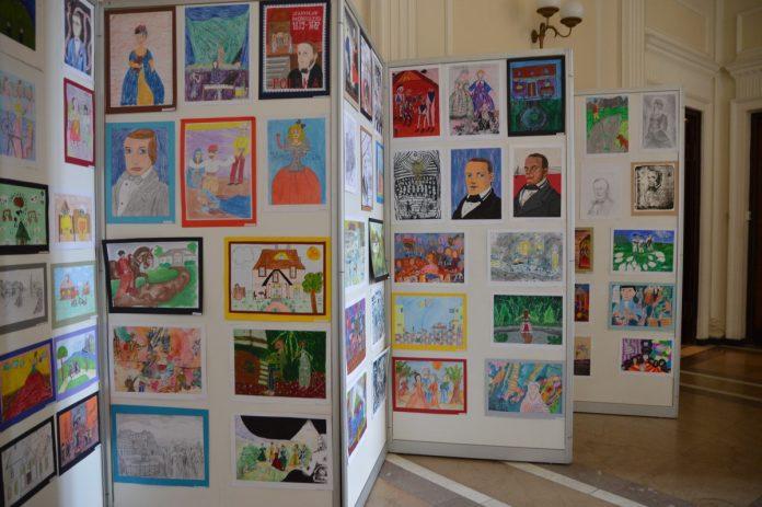 Przedszkolaki wzięły udział w konkursie plastycznym o Moniuszko